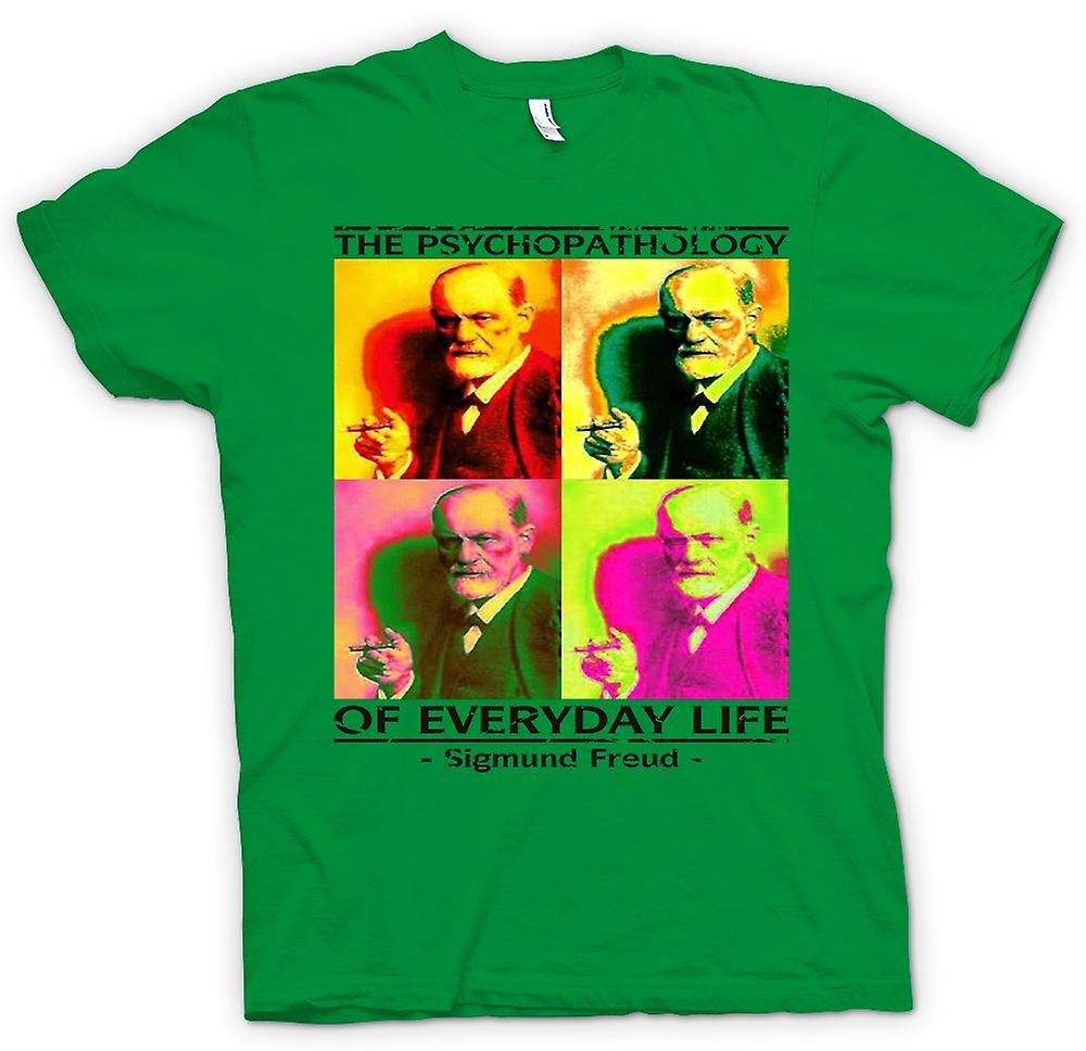 Heren T-shirt - Sigmund Freud psychopathologie - psychologie