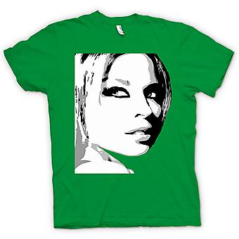 Womens T-shirt - Kylie Minogue - BW