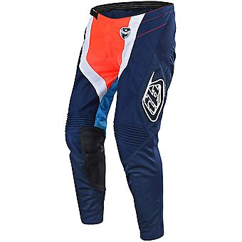 Troy Lee Designs Navy-Orange 2018 SE Squadra MX Pant