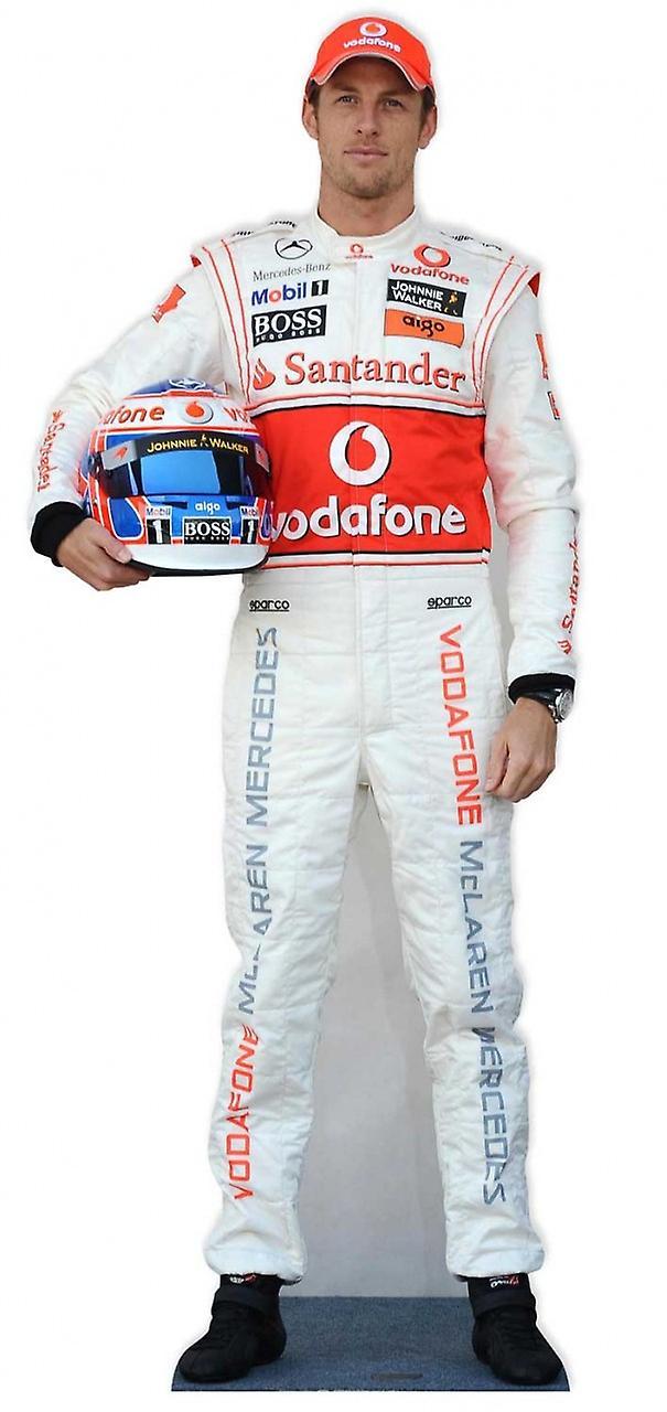 Jenson Button Formula 1 (F1) cartone Lifesize ritaglio / Standee