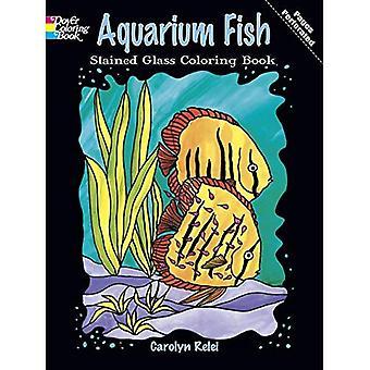Aquarium Fish Stained Glass Coloring Book