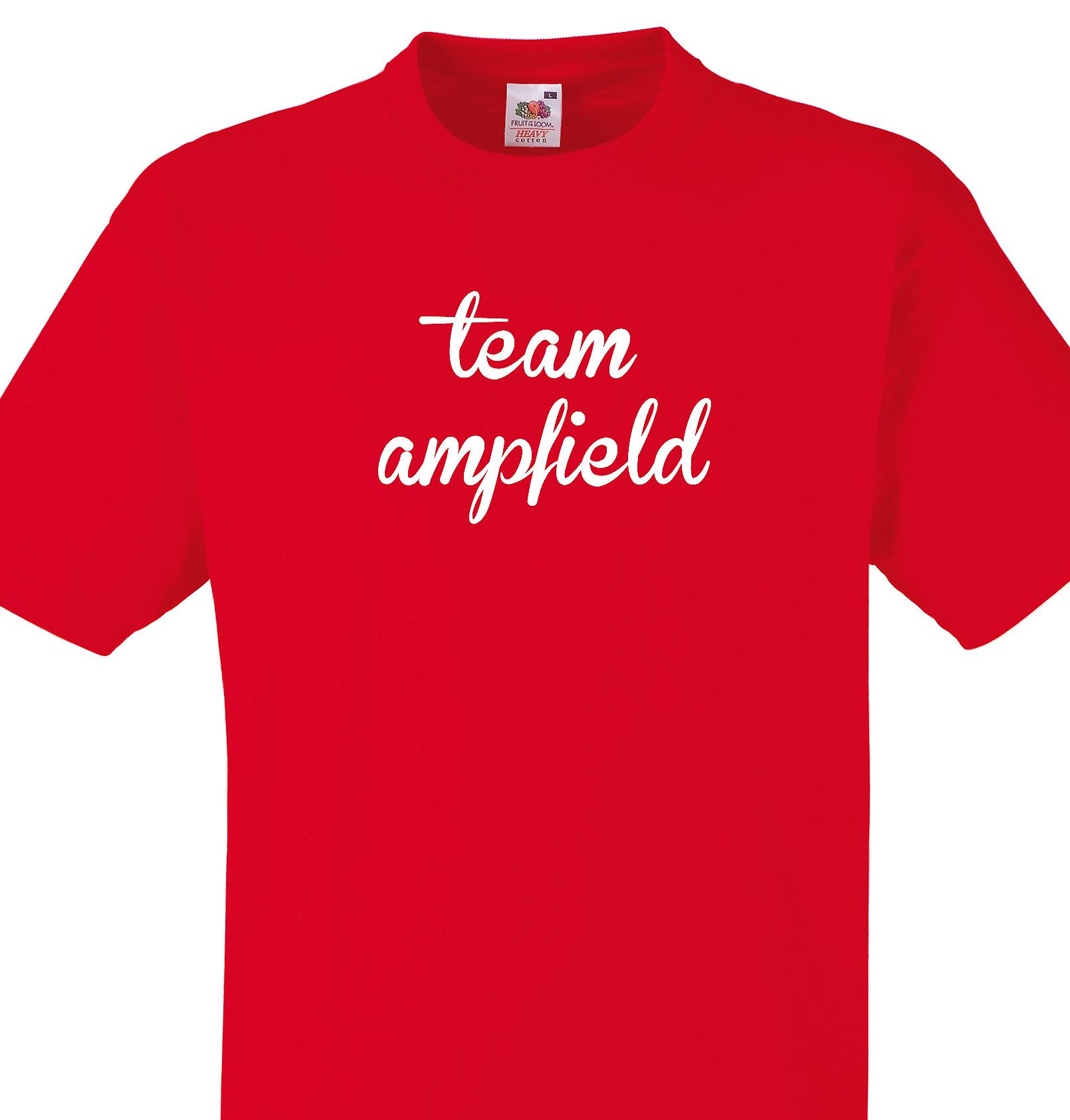 Team Ampfield Red T shirt