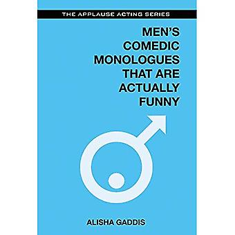 Men's Comedic Monologues That are Actually Funny - The Applause Acting Series