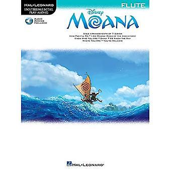 Hal Leonard Instrumental Play-Along: Moana - Querflöte (Buch/Online-Audio)