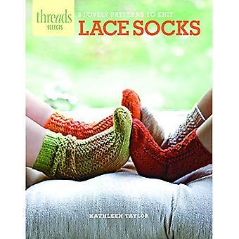 Chaussettes de dentelle: 9 jolies modèles à tricoter (Threads sélectionne)