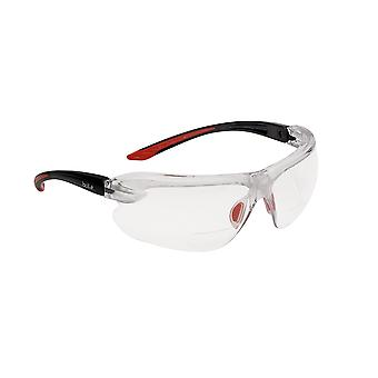 Bolle IRIDPSI3 Iris Clear Spectacles /w Non-Slip Temples & Reading Area