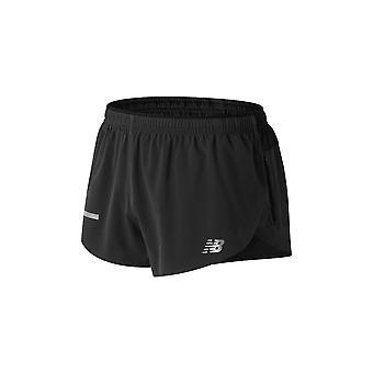 Nuevo equilibrio impacto Split 3 corto MS81260BK universal los pantalones de los hombres de año