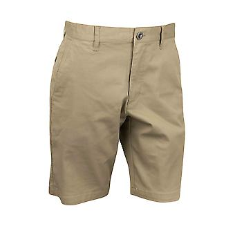 RVCA Mens VA Sport Weekend Stretch Casual Chino Shorts - Dark Khaki