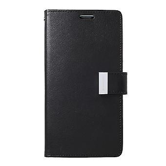 Mercury GOOSPERY Rich Diary to Samsung Galaxy S10 +-Black