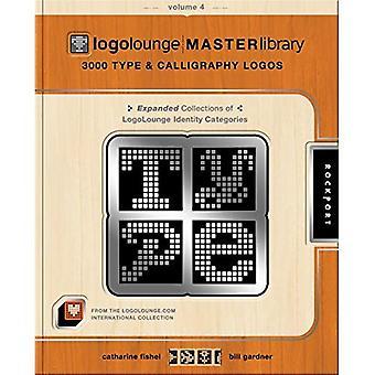 LogoLounge Master Library: v. 4:3000 typ & kalligrafi logotyper: 3000 typ och Callegraphy logotyper