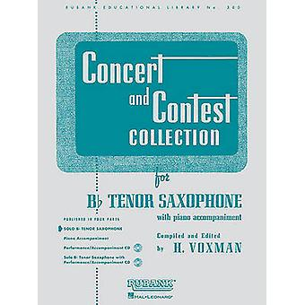 Concert and Contest Collection for BB Tenor Saxophone - Solo Part by H