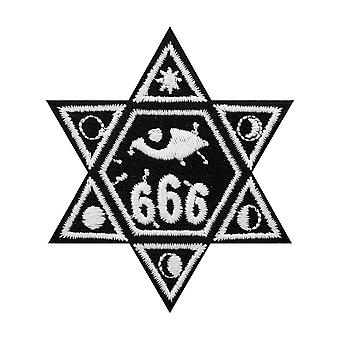 Grindstore 666 Star Patch