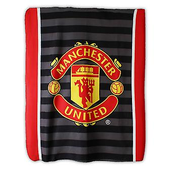 Manchester United FC Official Boys Plush Fleece Blanket