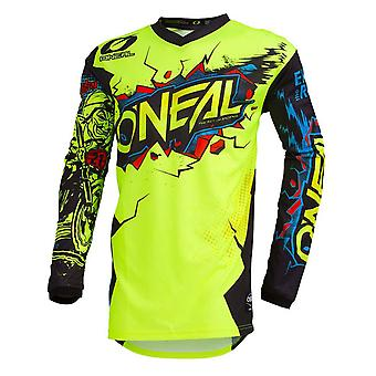ONeal Neon Gelb 2020 Element Villain Kinder MX Jersey