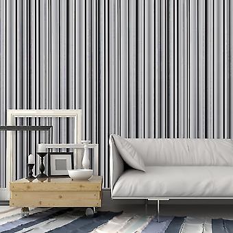 Arthouse Sophia Stripe grijs zwart glitter metallic verticale streep hoge kwaliteit wallpaper exclusieve 901605