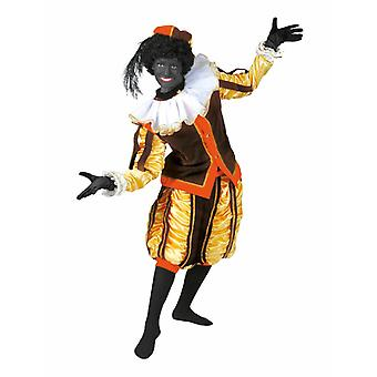 Costume noir Peter Piet Nikolaus Costume homme Ruprecht Servant Uniforme Costume Homme