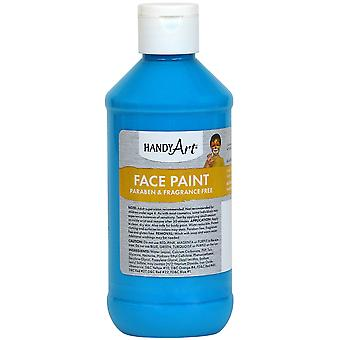 Handy Art Face Paint 8oz-Turquoise 556-35