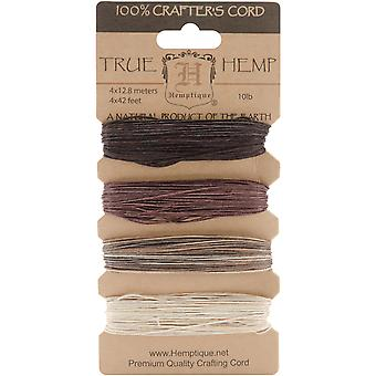 Hemp Cord 10# 42 Feet Pkg Earthy Hc10 Ea