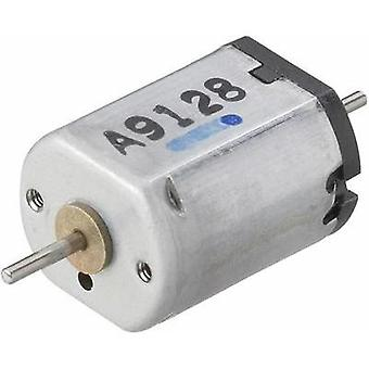 Miniature brushed motor Motraxx X-Train 109 LV N 15236 rpm