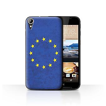 STUFF4 Case/Cover for HTC Desire 830/European Union/EU/European Flag