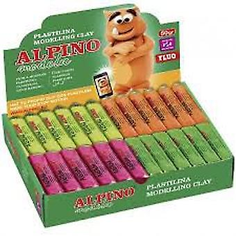 Alpino Fluor plasticine (Toys , Educative And Creative , Arts And Crafts , Dough)