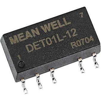 DC/DC converter (SMD) Mean Well 5 Vdc +5 Vdc, -5 Vdc +100 mA 1 W No. of outputs: 2 x