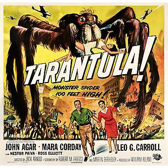 Tarantula Bottom From Left John Agar Mara Corday 1955 Movie Poster Masterprint