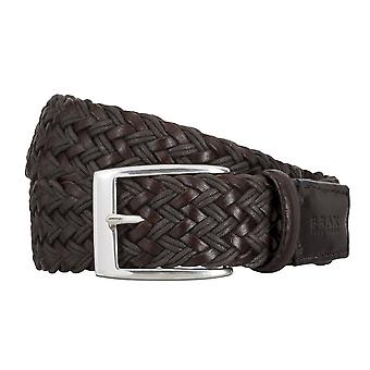 BRAX belts men's belts leather belt woven belt Brown 4677