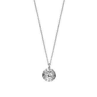 ESPRIT women's chain necklace silver cubic zirconia Galaxy ESNL93173A700