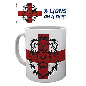 Anglii 3 lwy kubek
