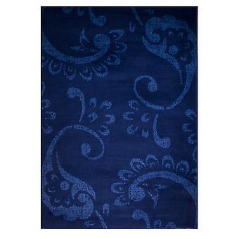 Hedendaagse blauw Paisley Floral tapijten