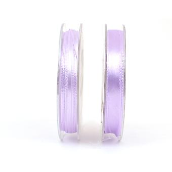 10mm Polyester Satin Craft Ribbon - 10m Reel - Lilac | Ribbons & Bows for Crafts