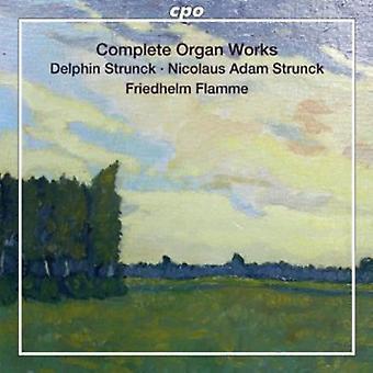 Strunck/Strunck/Flor/Meyer/Decker/Olter-Strunck/Strunck/Flor/Meyer/Decker/Olter: Obras completas del órgano [SACD] USA importar