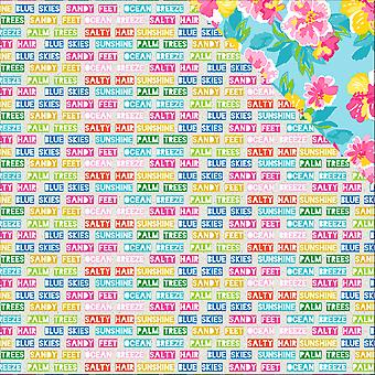Paradise Found Double-Sided Cardstock 12