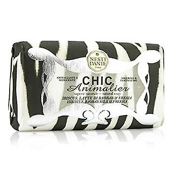 Chic Animalier Natural Soap - Hibiscus Baobab Milk & Freesia - 250g/8.8oz