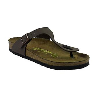 Birkenstock Gizeh Ladies Sandals Suede Leather Ruber Slip On Fastening Footwear