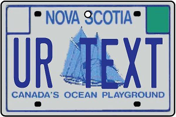 Personalized Nova Scotia Numberplate Car Air Freshener