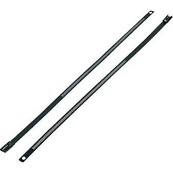 Cable tie 375 mm Black Coated KSS ASTN-375 1 pc(s)