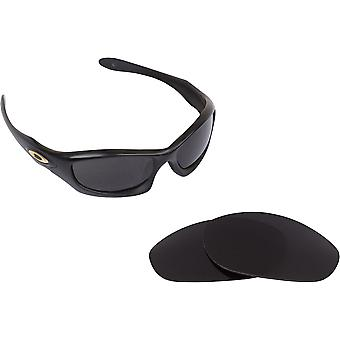 New SEEK Polarized Replacement Lenses - Oakley MONSTER DOG Black Yellow Silver