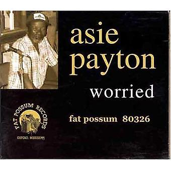 Asie Payton - Worried [CD] USA import