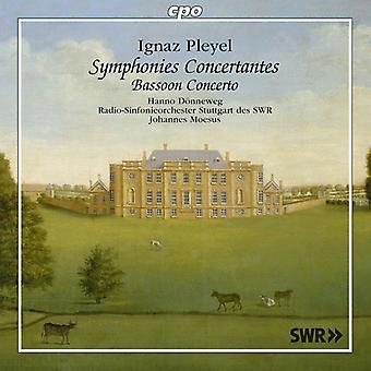 Pleyel - importation USA Syms Concertantes/basson Concerto [CD]