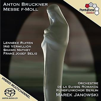 A. Bruckner - Bruckner: Importación de los E.e.u.u. no. de masa 3 [SACD]