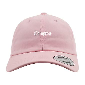 Mister Tee LOW PROFILE Dad Cap - Compton pink