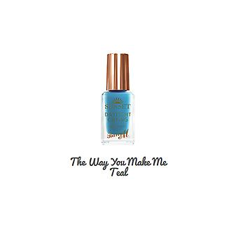 Barry M Barry M coucher Nail Paint The Way You Make Me Teal