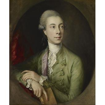 Thomas Gainsborough - Richard Paul Jodrell Poster Print Giclee