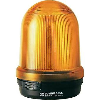 Emergency light Werma Signaltechnik 829.310.68 Yellow