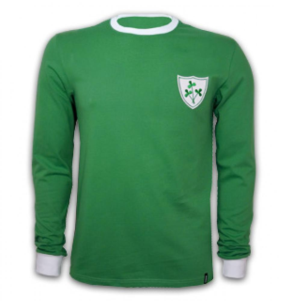 Ireland 1960\'s Long Sleeve Retro Shirt 100% cotton