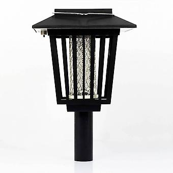 Solar powered lampe anti-insectes
