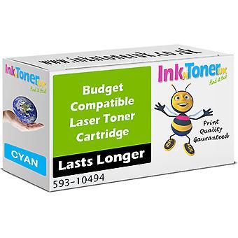 Wert kompatibel für Dell J069K Cyan Toner Cartridge (593-10494)
