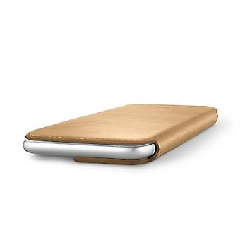 Twelve South SurfacePad for iPhone 7 Razor thin nappa leather-Camel